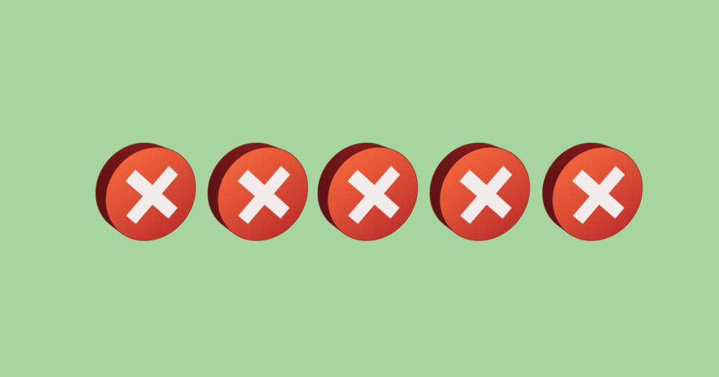 5 Mistakes That Can Kill Your Sales Conversions
