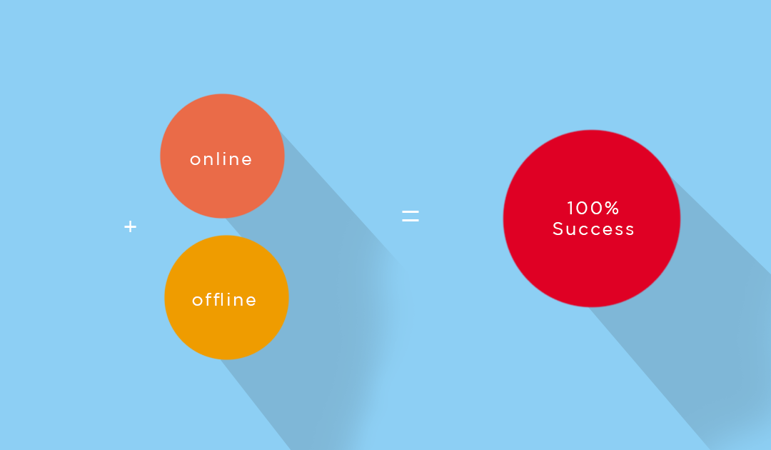 Marketers agree that online and offline marketing are merging